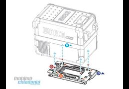 WAECO Upevňovacia sada pre autochladničku WAECO CFX 28
