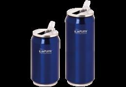 LaPLAYA Cool Can - Nerez 0,5 litra modrá termoplechovka