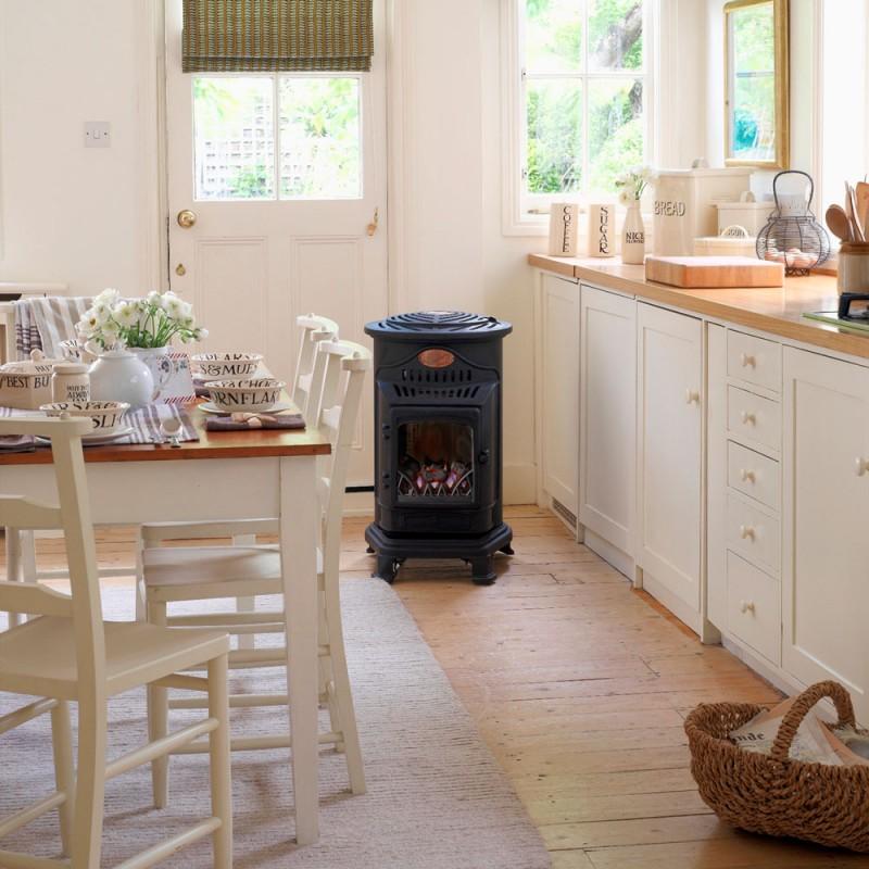 provence plynov kachle s efektom plame a na prop n but n. Black Bedroom Furniture Sets. Home Design Ideas