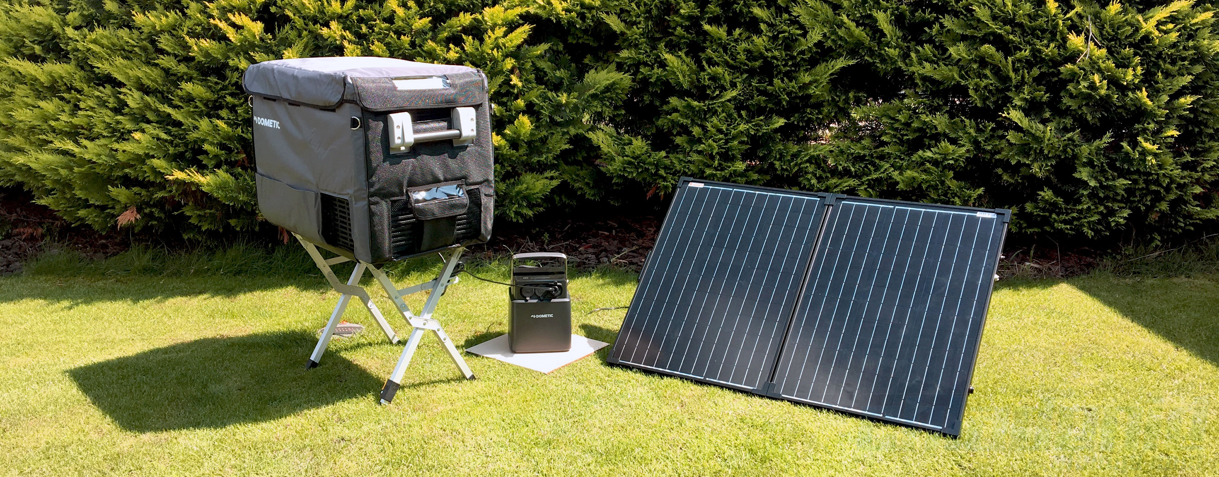 Solar set Dometic CFX40 with PLB 40 Lithium PowerBank